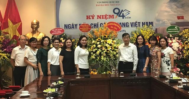 Thứ trưởng Trịnh Thị Thủy thăm và chúc mừng các cơ quan báo chí nhân Ngày Báo chí cách mạng Việt Nam - Ảnh 1.