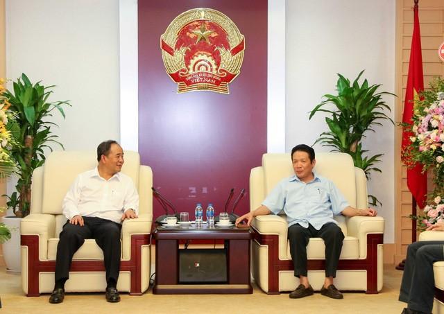 Thứ trưởng Lê Khánh Hải chúc mừng các cơ quan báo chí nhân Ngày Báo chí cách mạng Việt Nam - Ảnh 1.
