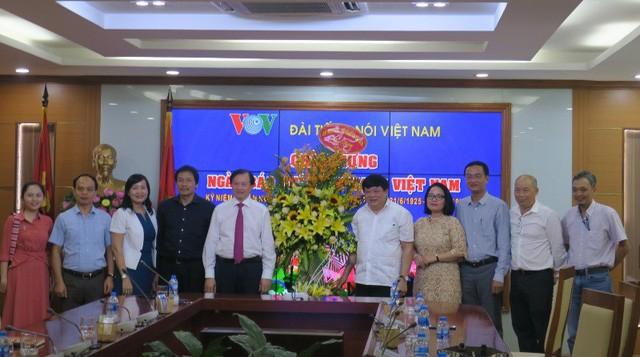 Thứ trưởng Tạ Quang Đông thăm và chúc mừng các cơ quan báo chí nhân Ngày Báo chí cách mạng Việt Nam - Ảnh 2.