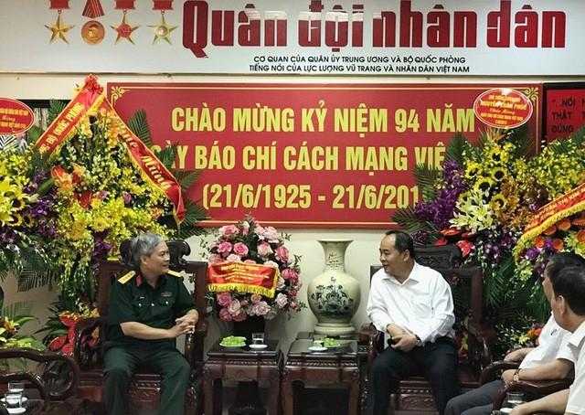 Thứ trưởng Lê Khánh Hải chúc mừng các cơ quan báo chí nhân Ngày Báo chí cách mạng Việt Nam - Ảnh 4.