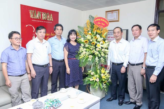 Thứ trưởng Lê Khánh Hải chúc mừng các cơ quan báo chí nhân Ngày Báo chí cách mạng Việt Nam - Ảnh 5.