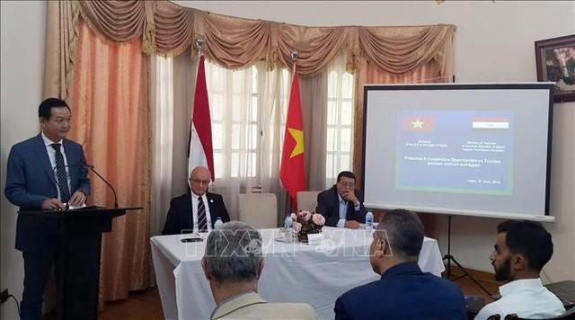 Việt Nam - Ai Cập: Cơ hội thúc đẩy và hợp tác du lịch - Ảnh 1.