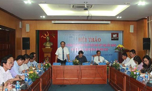 Nhà hát Chèo Bắc Giang cần thiết duy trì và phát triển trở thành đơn vị hoạt động chuyên nghiệp - Ảnh 1.