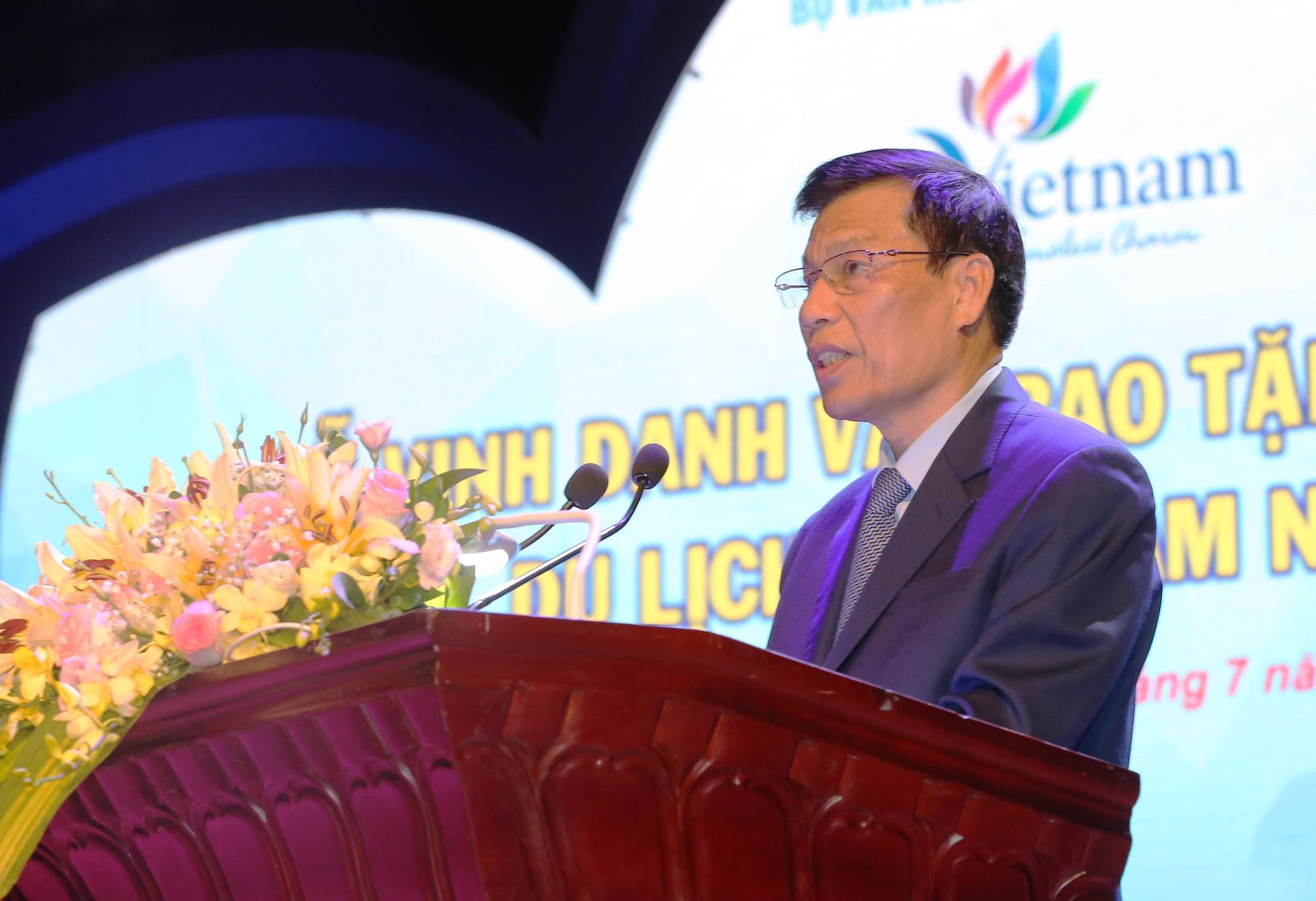 Phát biểu tại buổi lễ, Bộ trưởng Nguyễn Ngọc Thiện nhấn mạnh: