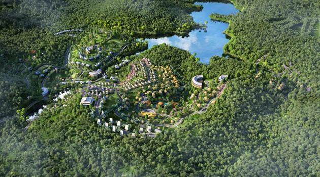 Hòa Bình công bố phê duyệt đồ án quy hoạch chi tiết Khu du lịch nghỉ dưỡng Hồ Dụ - Ảnh 1.