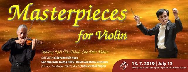 Nghệ sỹ violin nổi danh Stéphane Trần Ngọc biểu diễn tại Việt Nam - Ảnh 1.