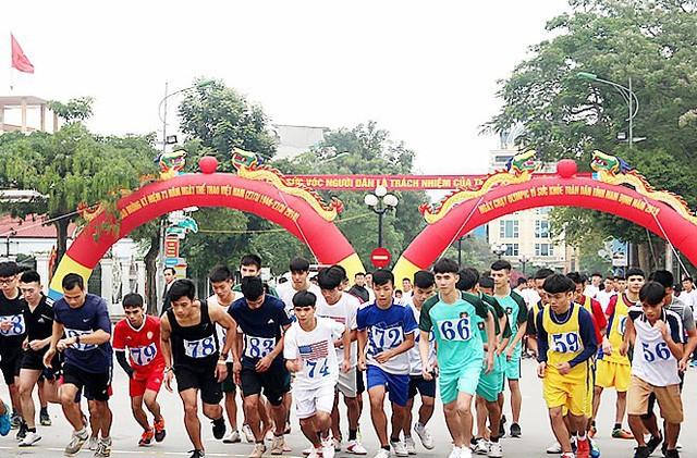 Nam Định lan tỏa phong trào tập luyện thể dục thể thao - Ảnh 1.