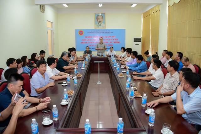 Gặp mặt Ban liên lạc cựu sinh viên các khóa hướng tới kỷ niệm 60 năm thành lập Trường Đại học Thể dục thể thao Bắc Ninh - Ảnh 2.