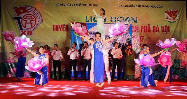 Liên hoan Tuyên truyền lưu động thành phố Hà Nội lần thứ XIII năm 2019 - Ảnh 1.