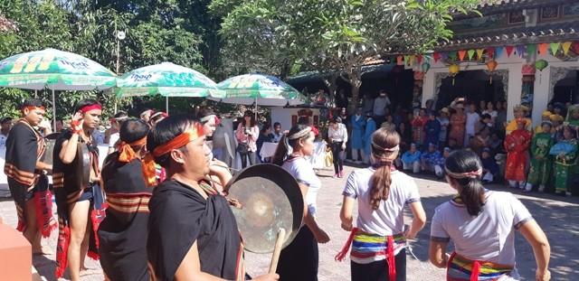 Nghệ thuật cồng chiêng dân tộc Cor Quảng Ngãi trở thành di sản quốc gia - Ảnh 1.