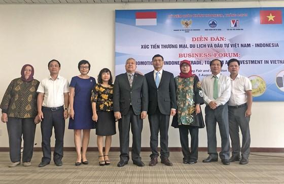 Tăng cường xúc tiến thương mại, du lịch và đầu tư Việt Nam- Indonesia  - Ảnh 1.