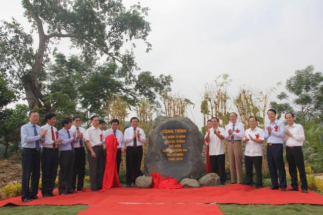 Thái Nguyên khánh thành Dự án tu bổ, tôn tạo di tích địa điểm Trường Đảng Nguyễn Ái Quốc - Ảnh 1.