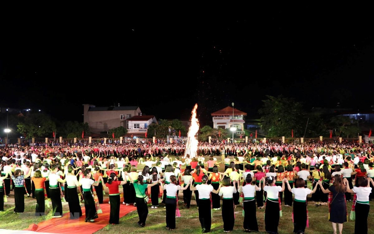 """Bộ VHTTDL lên tiếng về việc đăng ký xác lập kỷ lục Guinness """"Màn đại xòe Việt Nam lớn nhất thế giới"""""""