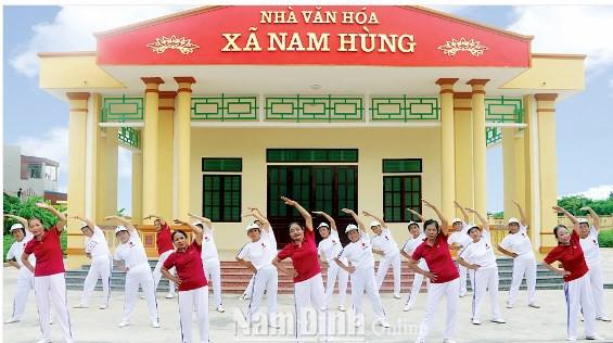Kết quả ghi nhận sau 9 năm thực hiện tiêu chí văn hóa trong xây dựng nông thôn mới tại Nam Định - Ảnh 1.