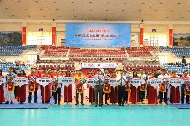 Gần 300 vận động viên tham dự Giải Karate quốc gia lần thứ 29 - Ảnh 1.