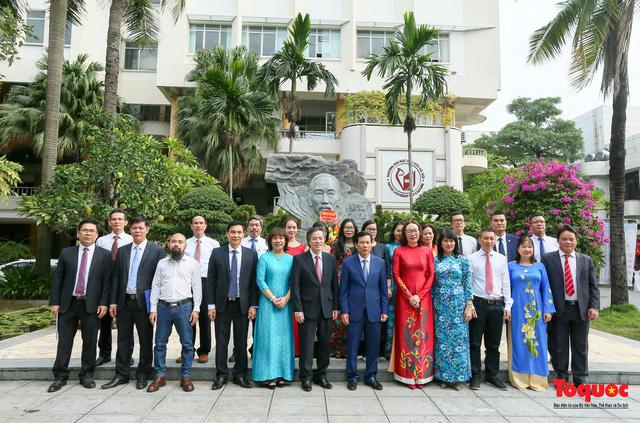 Bộ trưởng Nguyễn Ngọc Thiện: Nỗ lực xây dựng trường Đại học Văn hóa là ngôi trường đầu ngành đào tạo văn hóa, nghệ thuật và du lịch - Ảnh 3.
