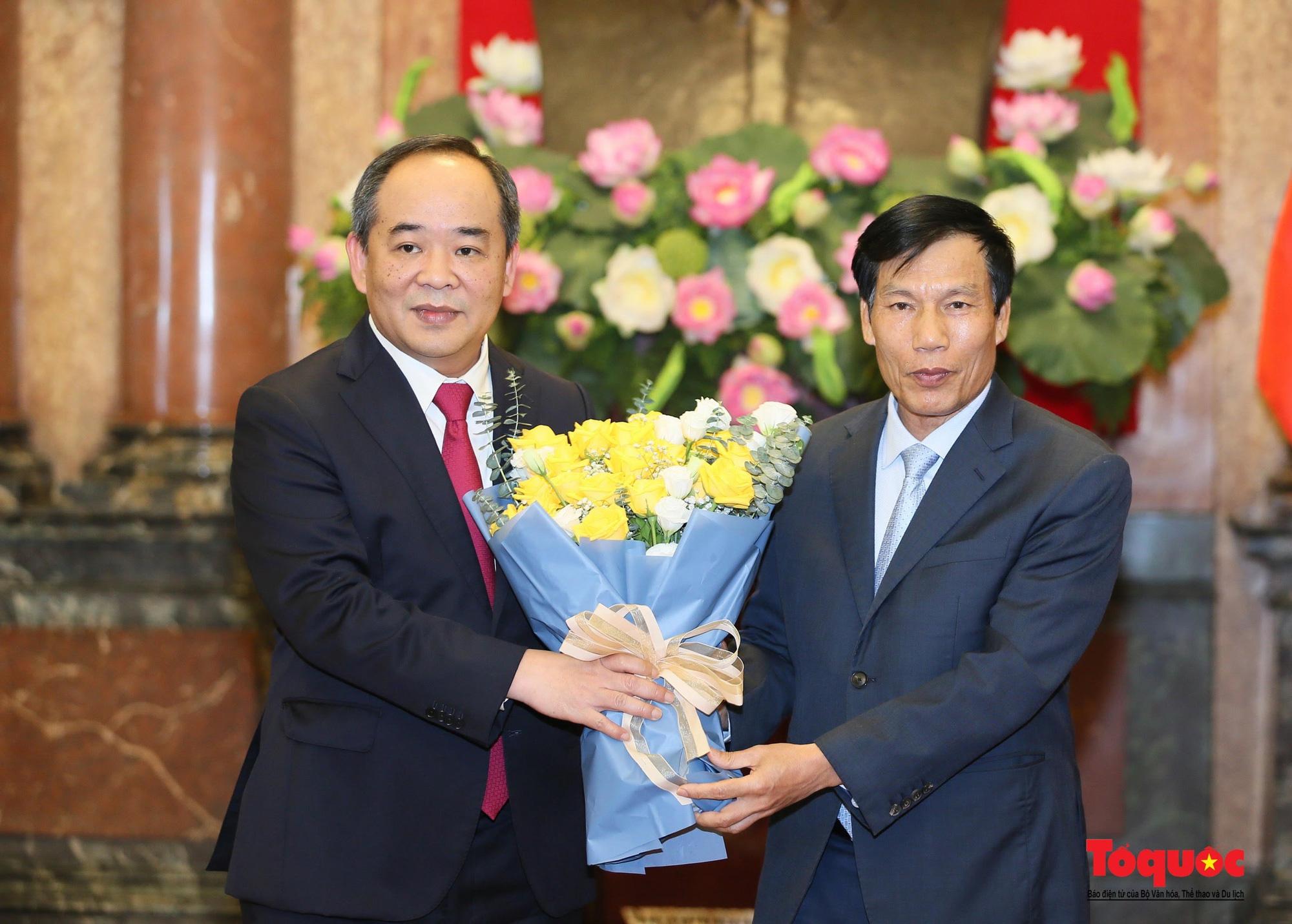 Thứ trưởng Bộ VHTTDL Lê Khánh Hải được bổ nhiệm làm Phó Chủ nhiệm Văn phòng Chủ tịch nước - Ảnh 6.