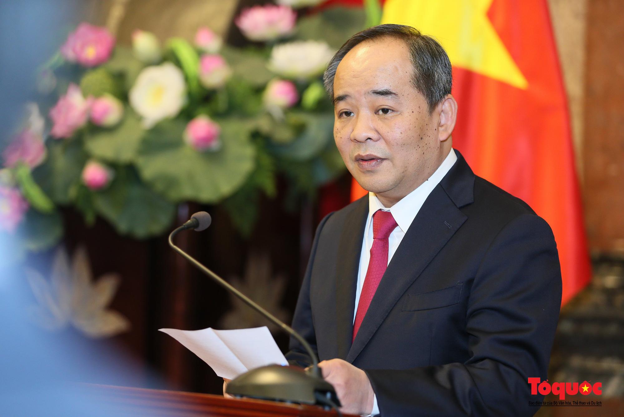 Thứ trưởng Bộ VHTTDL Lê Khánh Hải được bổ nhiệm làm Phó Chủ nhiệm Văn phòng Chủ tịch nước - Ảnh 4.
