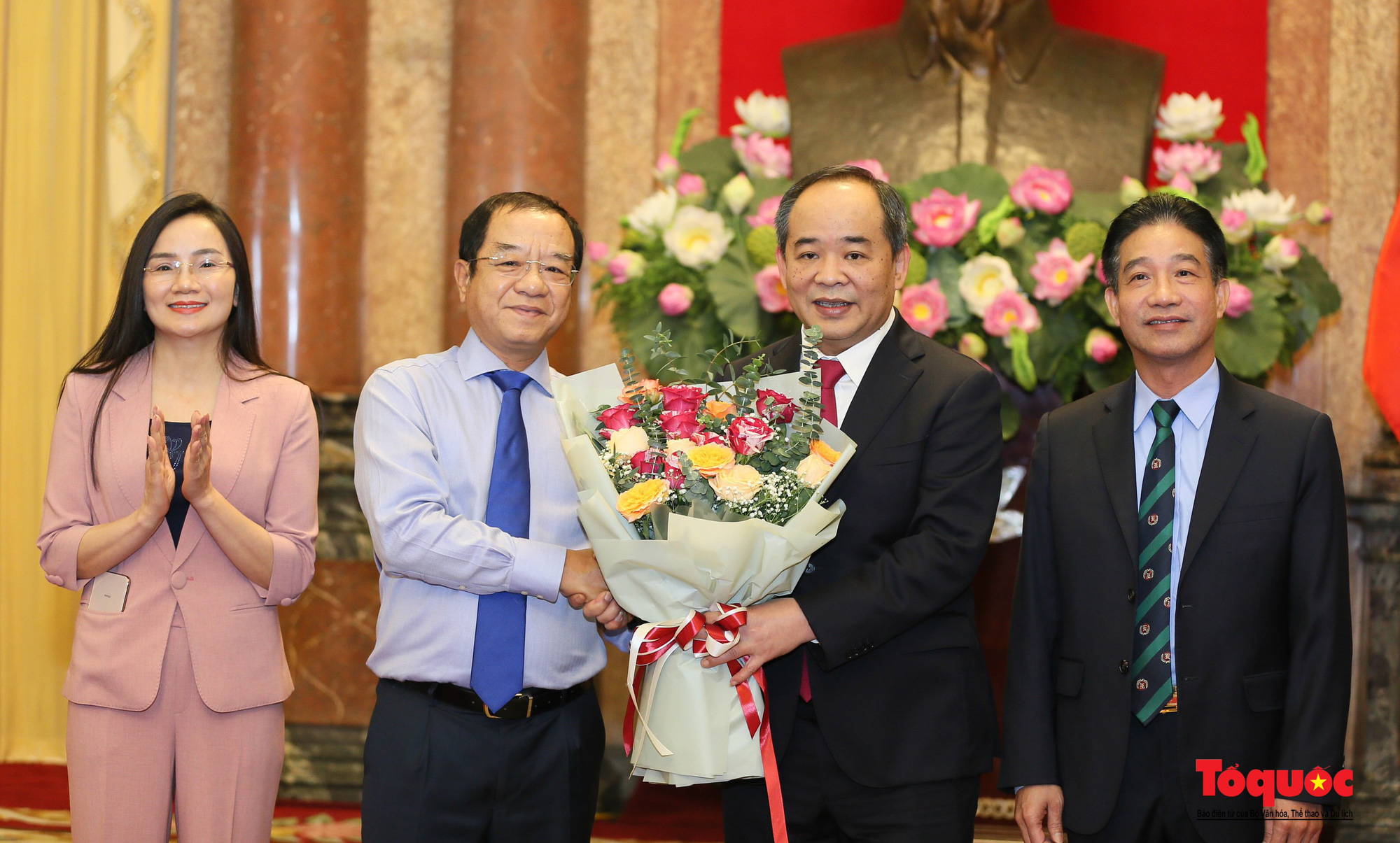 Thứ trưởng Bộ VHTTDL Lê Khánh Hải được bổ nhiệm làm Phó Chủ nhiệm Văn phòng Chủ tịch nước - Ảnh 5.