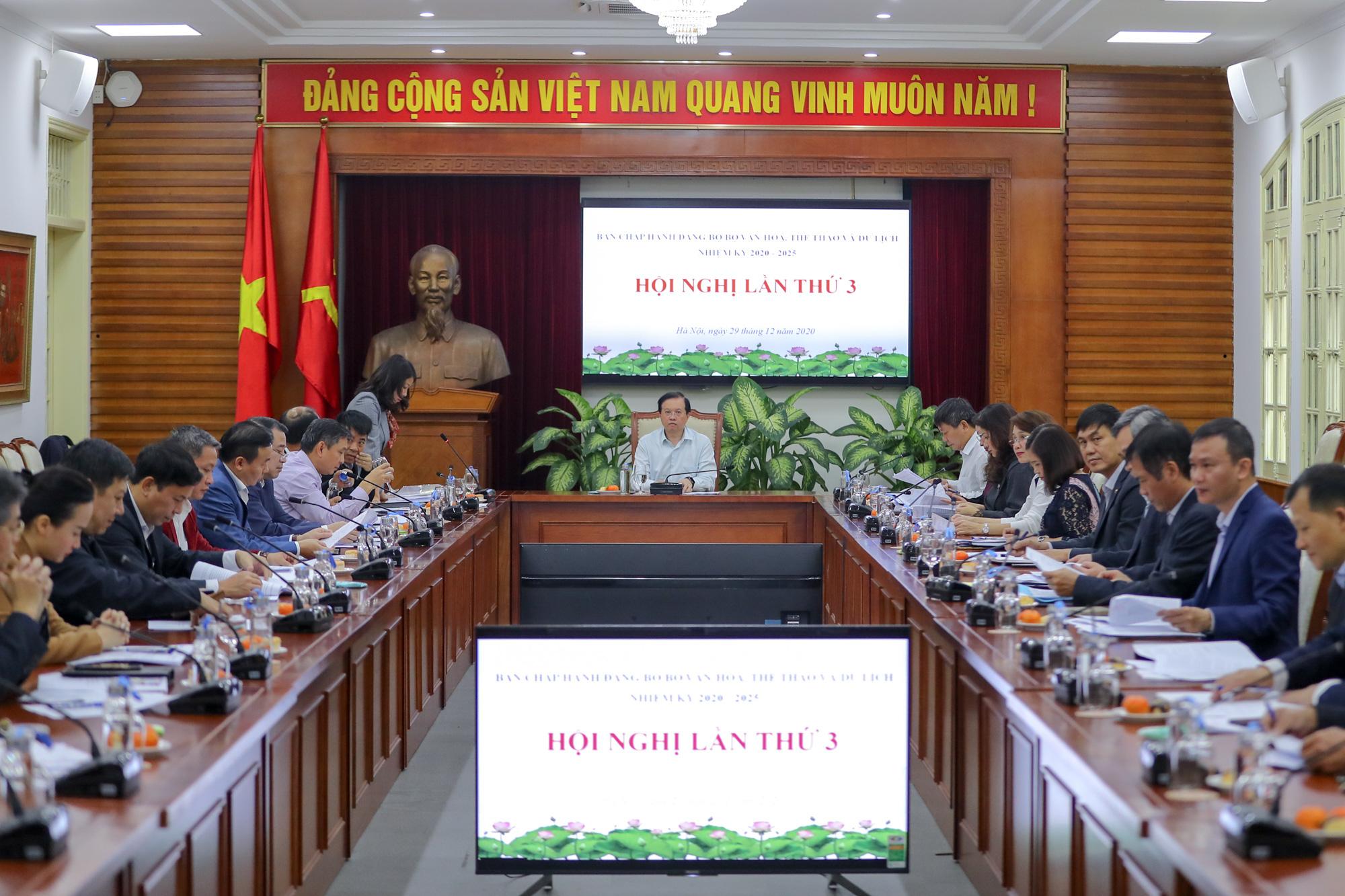 Hội nghị Ban chấp hành Đảng bộ Bộ VHTTDL lần thứ 3 - Ảnh 4.
