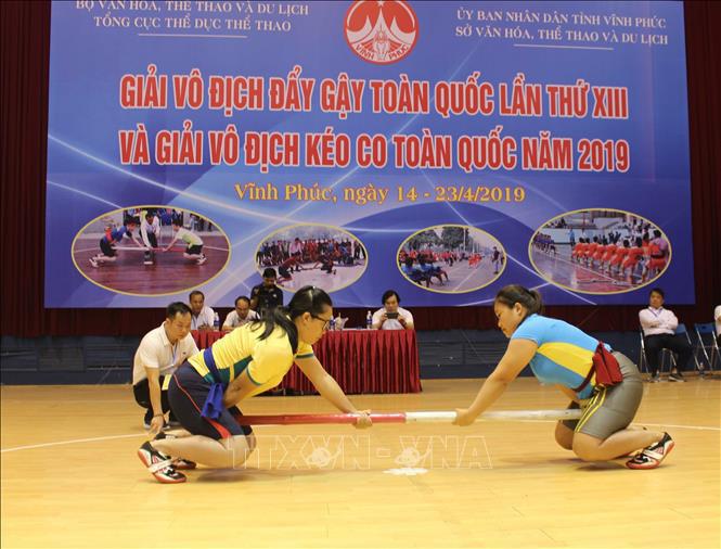 300 vận động viên tham gia giải vô địch Đẩy gậy và Kéo co toàn quốc năm 2020  - Ảnh 1.