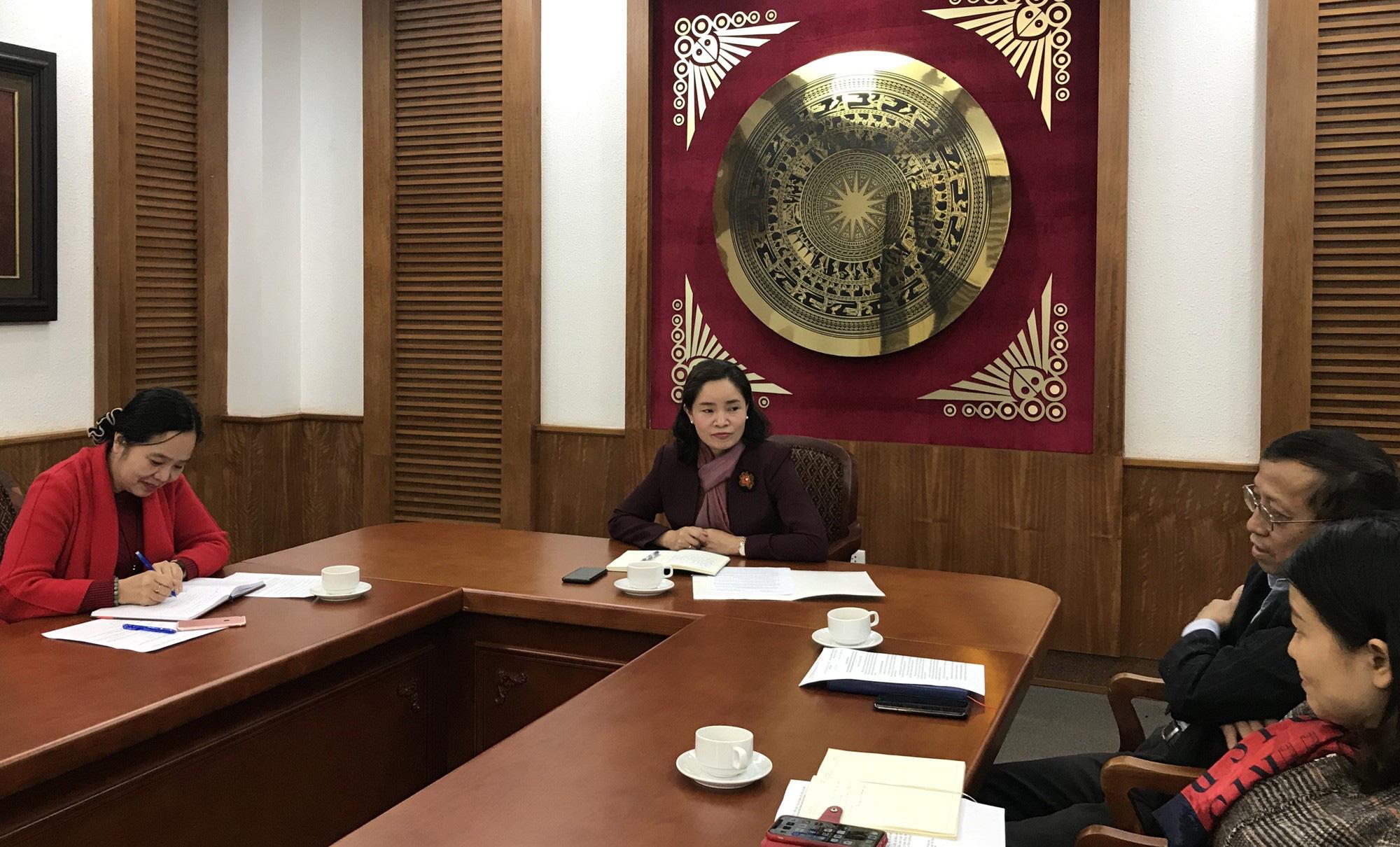 Thứ trưởng Trịnh Thị Thủy: Chủ động, tích cực hoàn thiện dự thảo Nghị định của Chính phủ quy định chi tiết một số điều của Luật Thư viện - Ảnh 1.