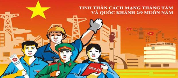 Tổ chức Cuộc thi sáng tác tranh cổ động trực tuyến tuyên truyền kỷ niệm 75 năm Ngày Cách mạng tháng Tám thành công... - Ảnh 1.