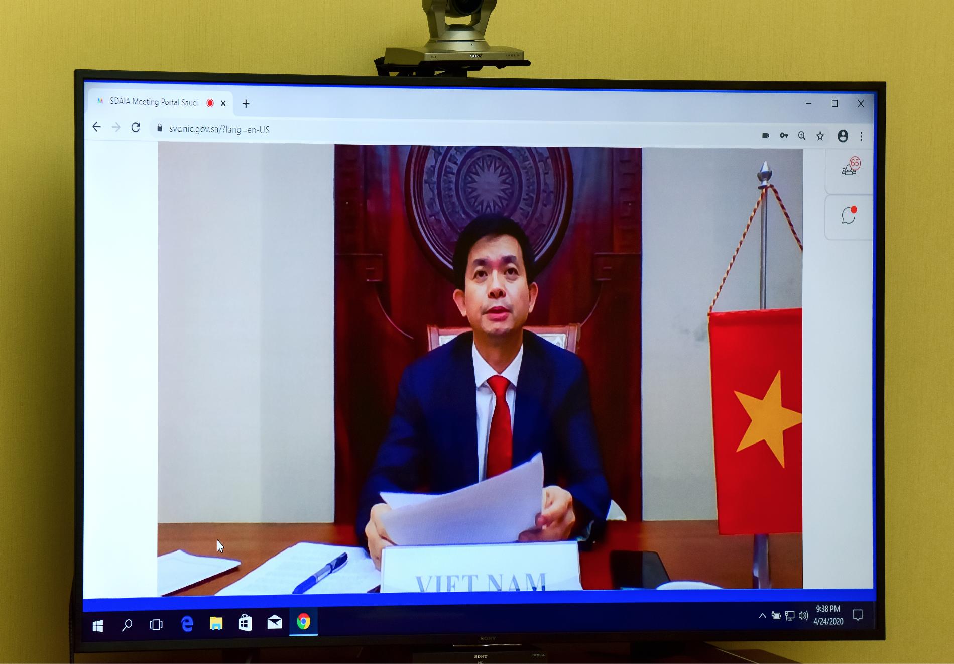 Hội nghị trực tuyến Bộ trưởng Du lịch G20 - Ảnh 4.