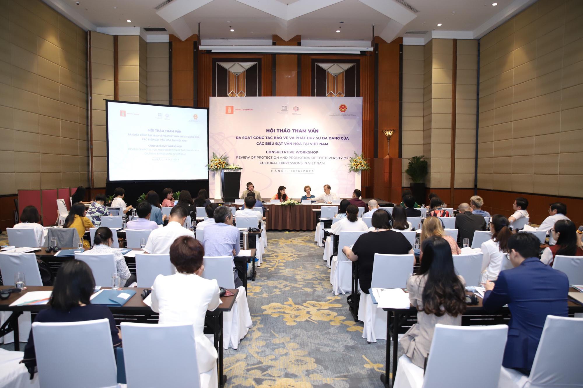 Bộ VHTTDL tham vấn về rà soát công tác bảo vệ và phát huy sự đa dạng các biểu đạt văn hóa tại Việt Nam - Ảnh 2.