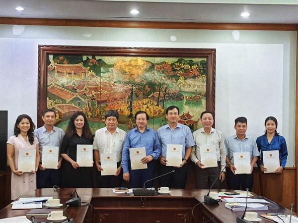 Hội nghị Ban thường vụ Đảng uỷ Bộ VHTTDL - Ảnh 1.