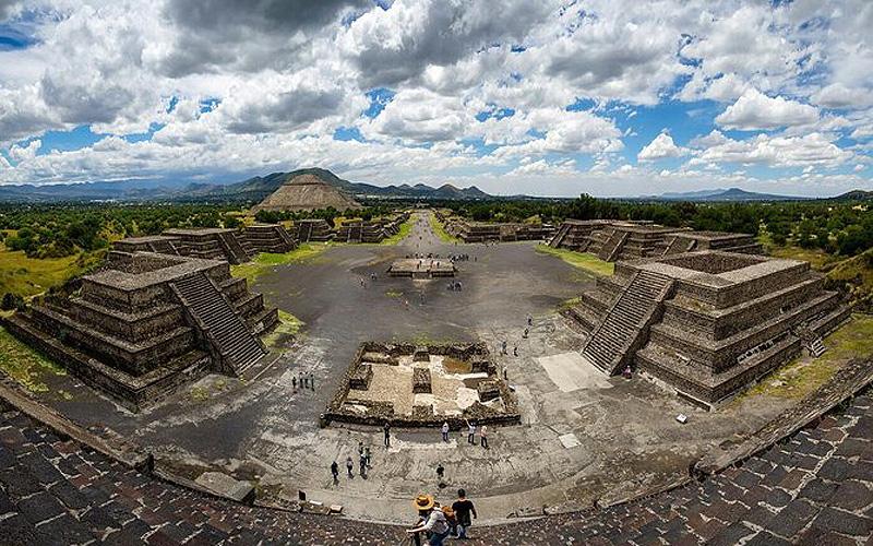 """Mexico mở cửa lại di tích """"thành phố của những vị thần"""" - Ảnh 1."""
