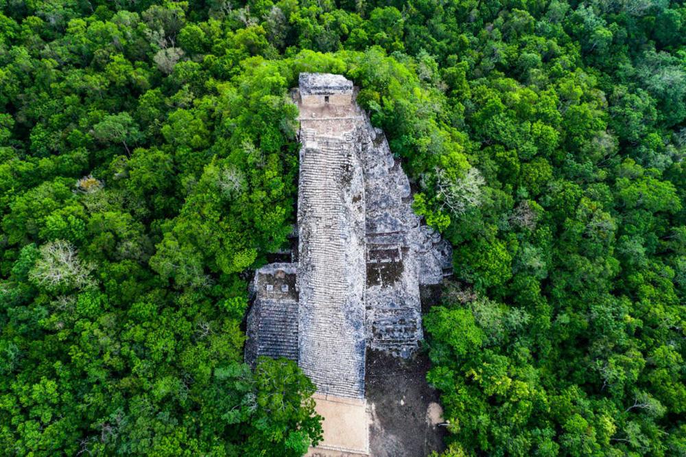 """Mexico mở cửa lại di tích """"thành phố của những vị thần"""" - Ảnh 3."""