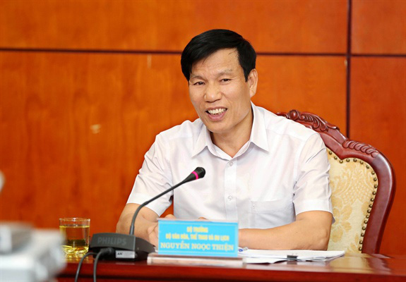 Bộ trưởng Nguyễn Ngọc Thiện: Đẩy nhanh tiến độ chuẩn bị cho SEA Games 31 - Ảnh 1.