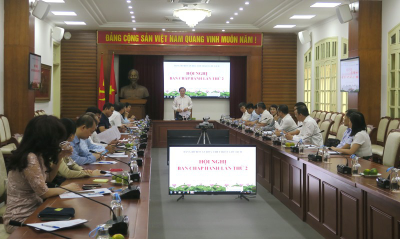 Hội nghị lần thứ 2, BCH Đảng Bộ Bộ Văn hóa, Thể thao và Du lịch - Ảnh 2.