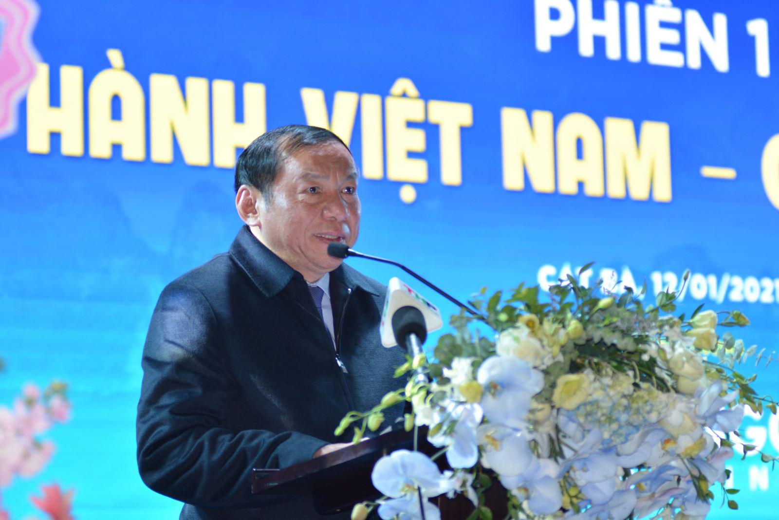 Thứ trưởng Nguyễn Văn Hùng: Doanh nghiệp lữ hành phải tái cấu trúc chính mình - Ảnh 1.