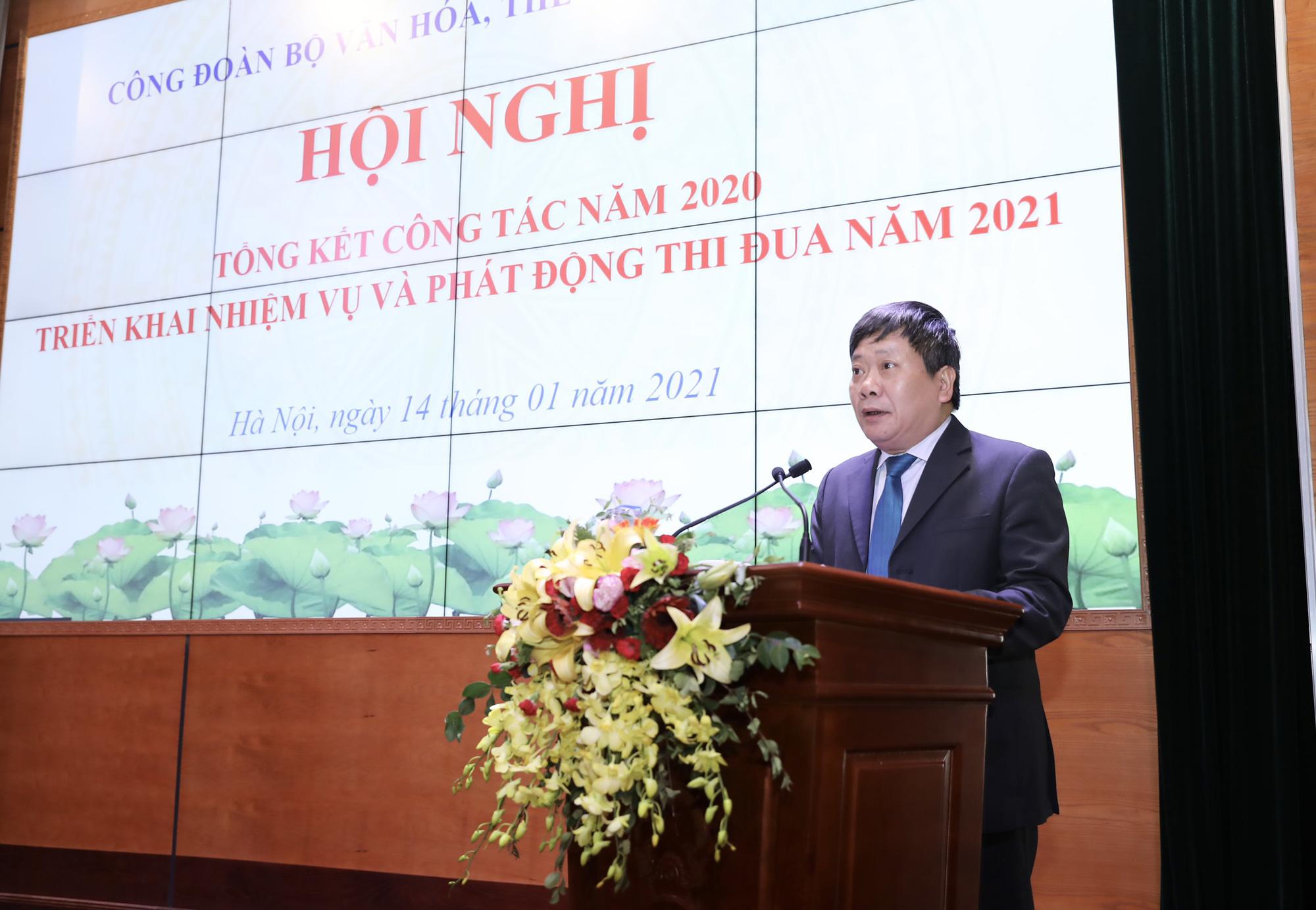Công đoàn Bộ Văn hóa, Thể thao và Du lịch đạt được nhiều kết quả đáng ghi nhận trong năm 2020 - Ảnh 2.
