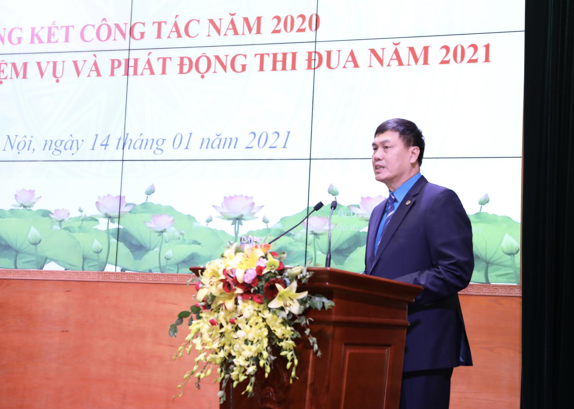 Công đoàn Bộ Văn hóa, Thể thao và Du lịch đạt được nhiều kết quả đáng ghi nhận trong năm 2020 - Ảnh 3.
