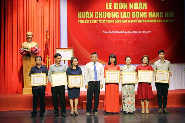 Đảng ủy khối cơ sở Bộ VHTTDL đón nhận Huân chương Lao động hạng Nhì - Ảnh 2.