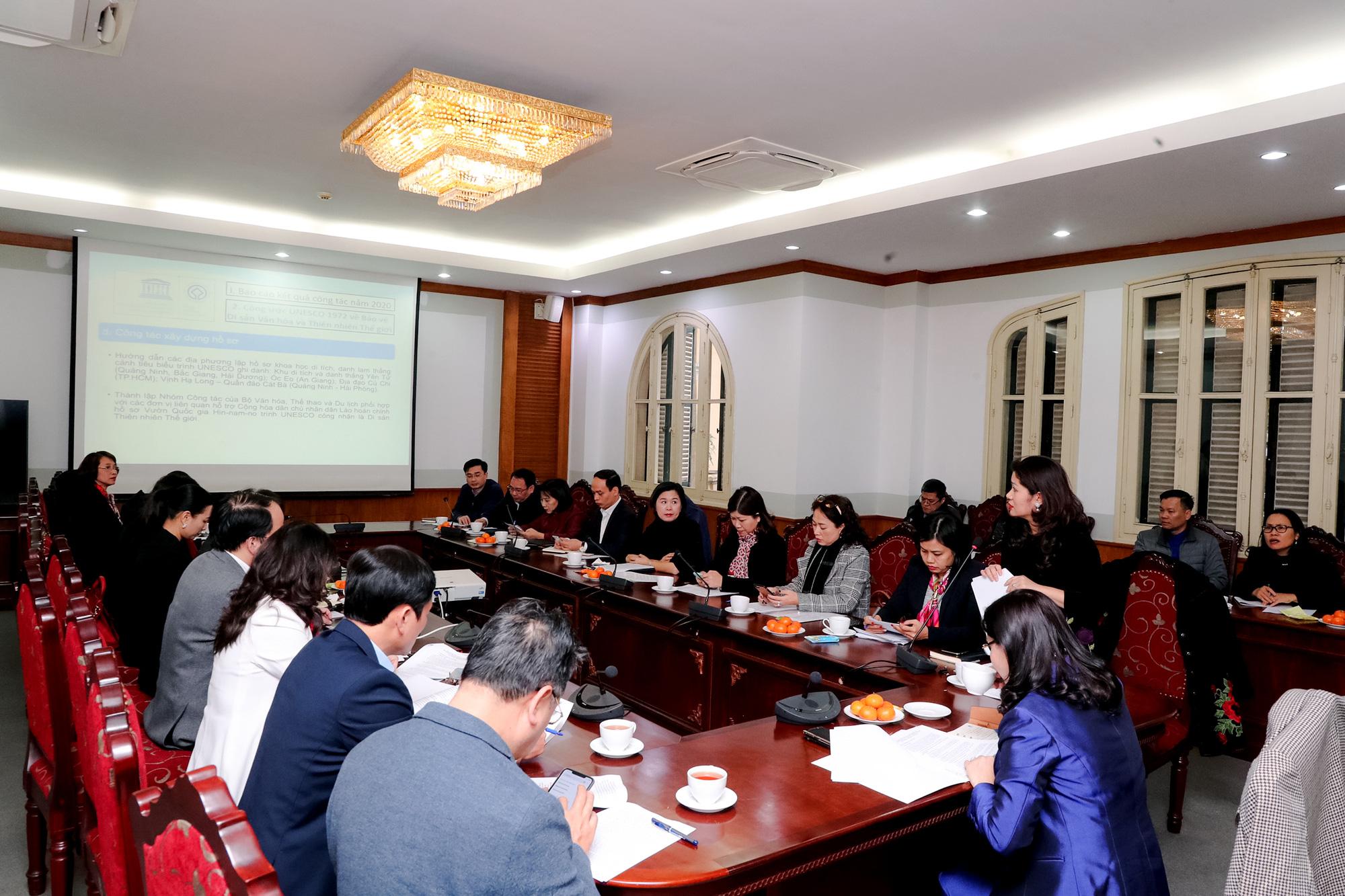 Tiểu ban Văn hóa (Ủy ban Quốc gia UNESCO Việt Nam) họp tổng kết công tác năm 2020 và trao đổi định hướng công tác năm 2021 - Ảnh 1.
