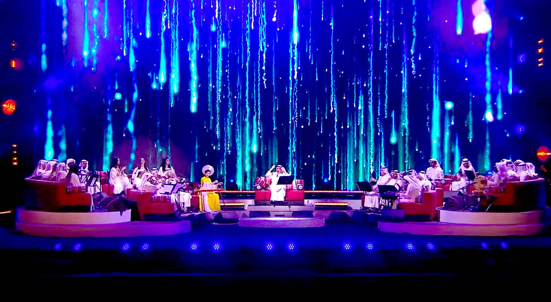 Đàn Bầu Việt Nam lần đầu hòa tấu trên sân khấu âm nhạc truyền thống Trung Đông - Ảnh 2.
