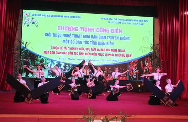 Bảo tồn nghệ thuật múa dân gian các dân tộc Điện Biên gắn với phát triển du lịch - Ảnh 1.