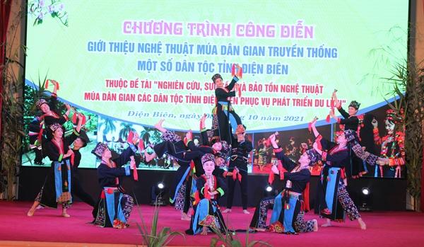 Bảo tồn nghệ thuật múa dân gian các dân tộc Điện Biên gắn với phát triển du lịch - Ảnh 4.
