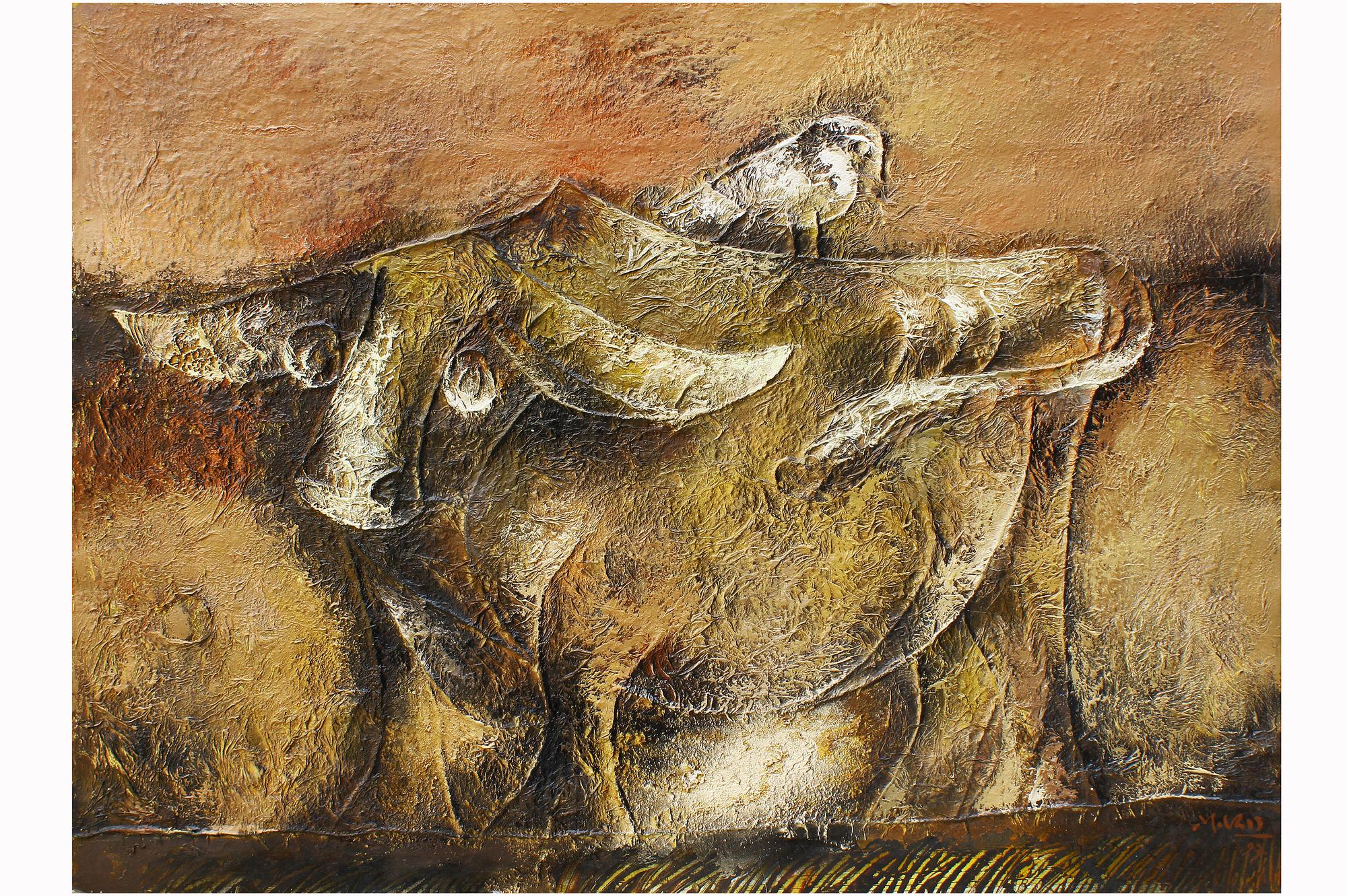 """Khai mạc trực tuyến triển lãm """"Chăn nuôi dưới góc nhìn nghệ thuật"""" - Ảnh 5."""