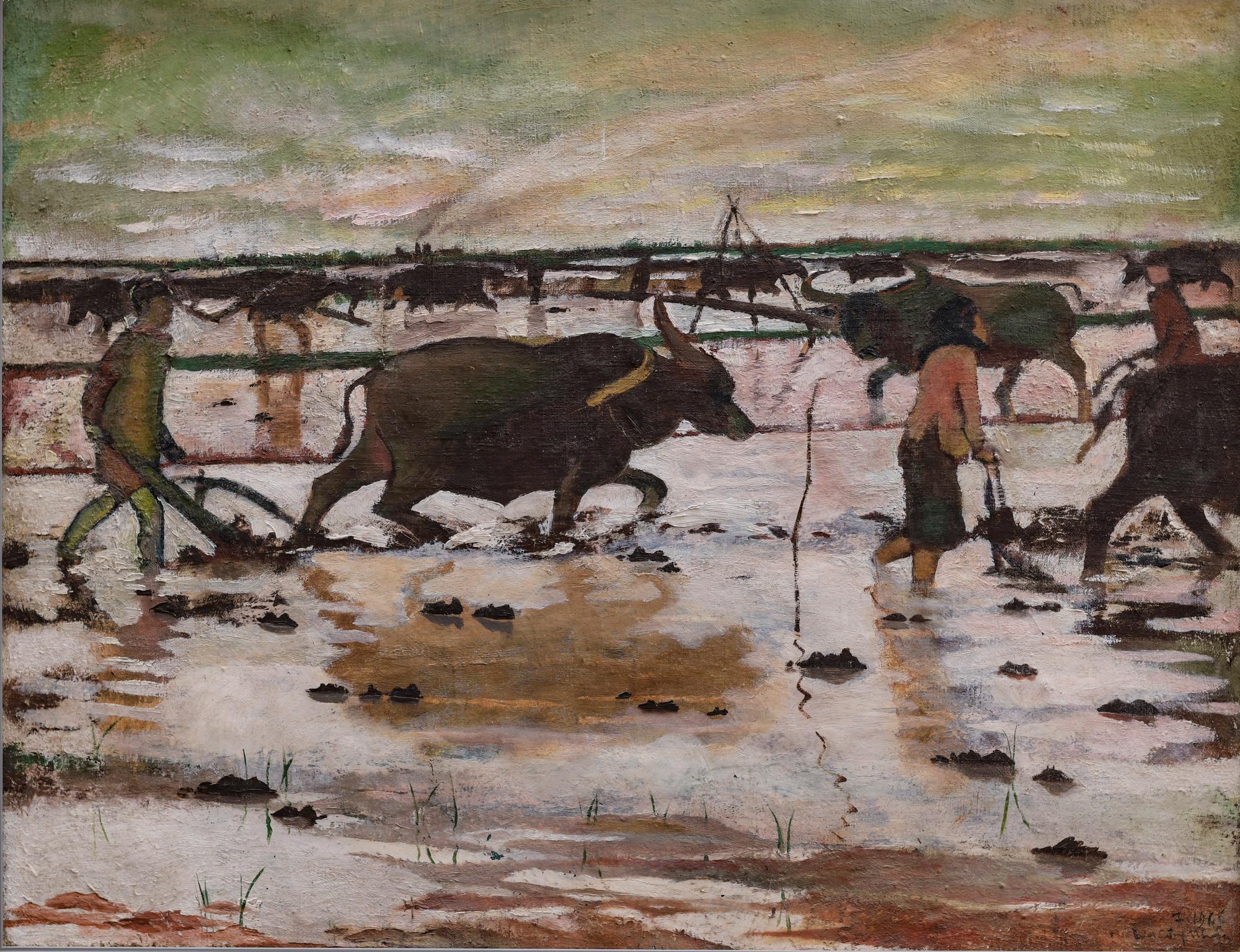 """Khai mạc trực tuyến triển lãm """"Chăn nuôi dưới góc nhìn nghệ thuật"""" - Ảnh 2."""