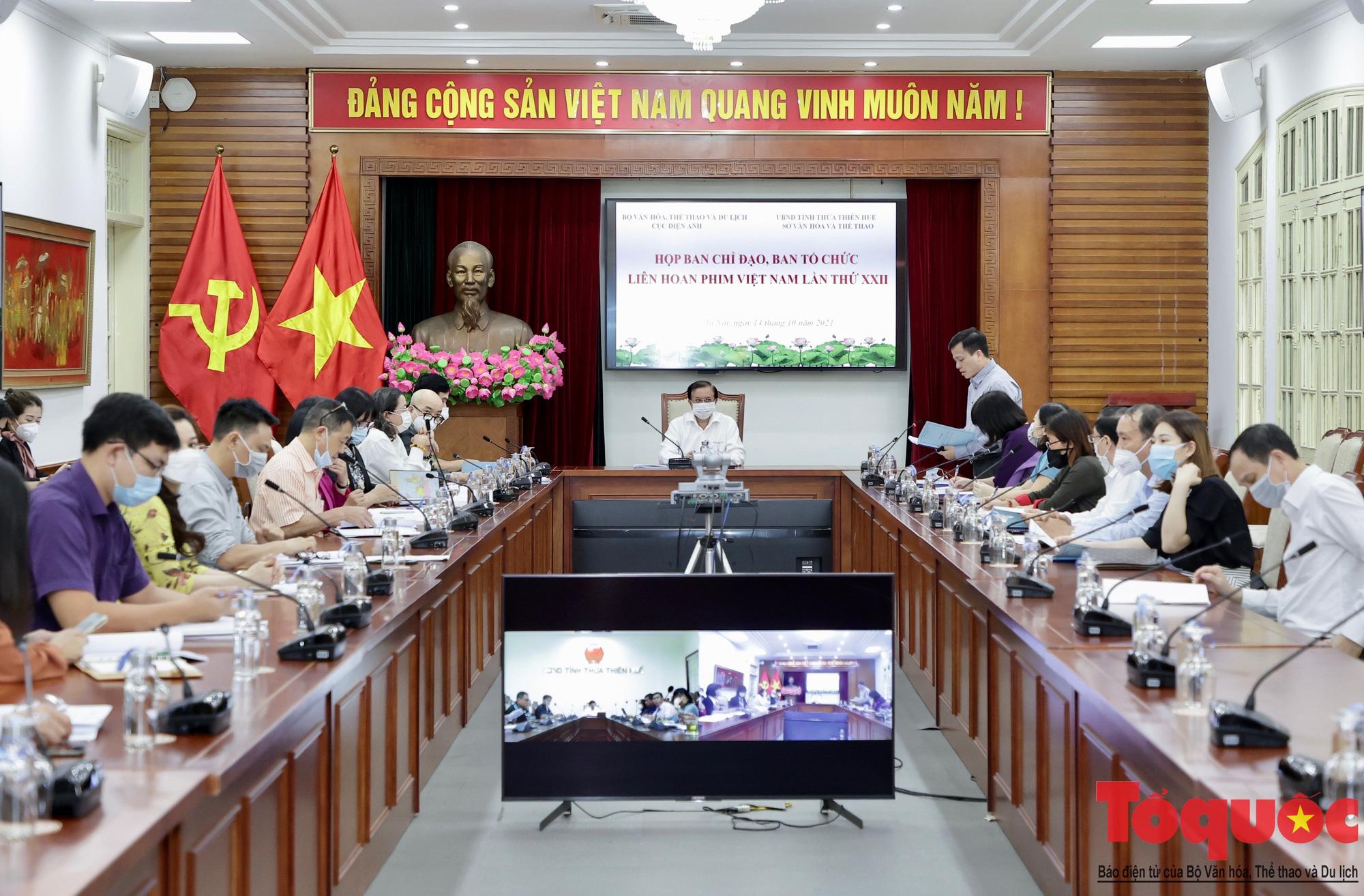 Nỗ lực vì một Liên hoan phim Việt Nam lần thứ XXII ấn tượng, thành công - Ảnh 1.