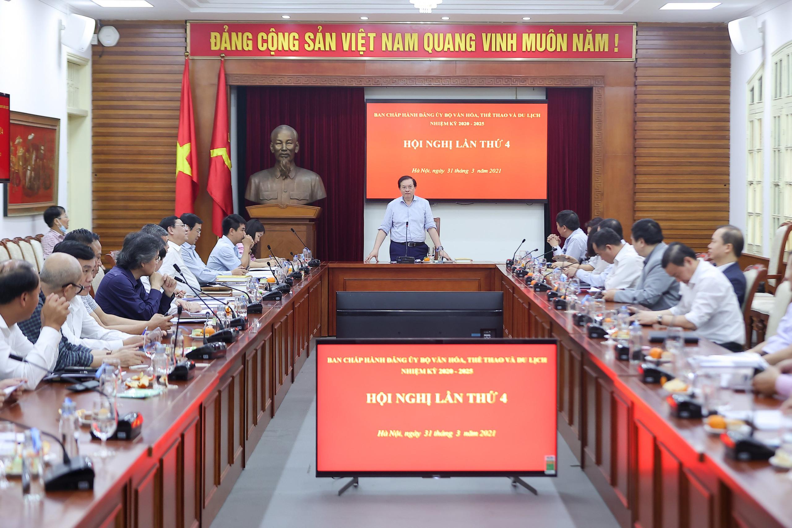 Hội nghị Ban chấp hành Đảng bộ Bộ VHTTDL lần thứ 3 - Ảnh 3.