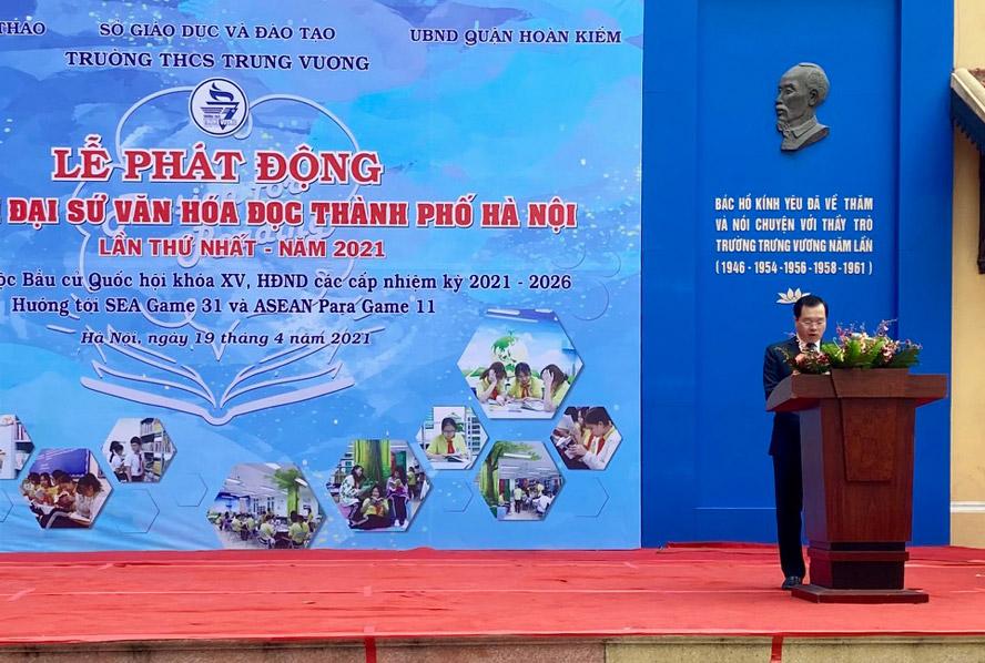 Phát động cuộc thi Đại sứ văn hóa đọc thành phố Hà Nội năm 2021 - Ảnh 1.