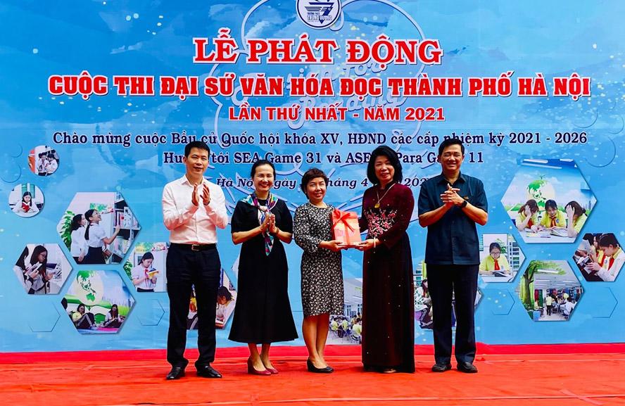 Phát động cuộc thi Đại sứ văn hóa đọc thành phố Hà Nội năm 2021 - Ảnh 2.