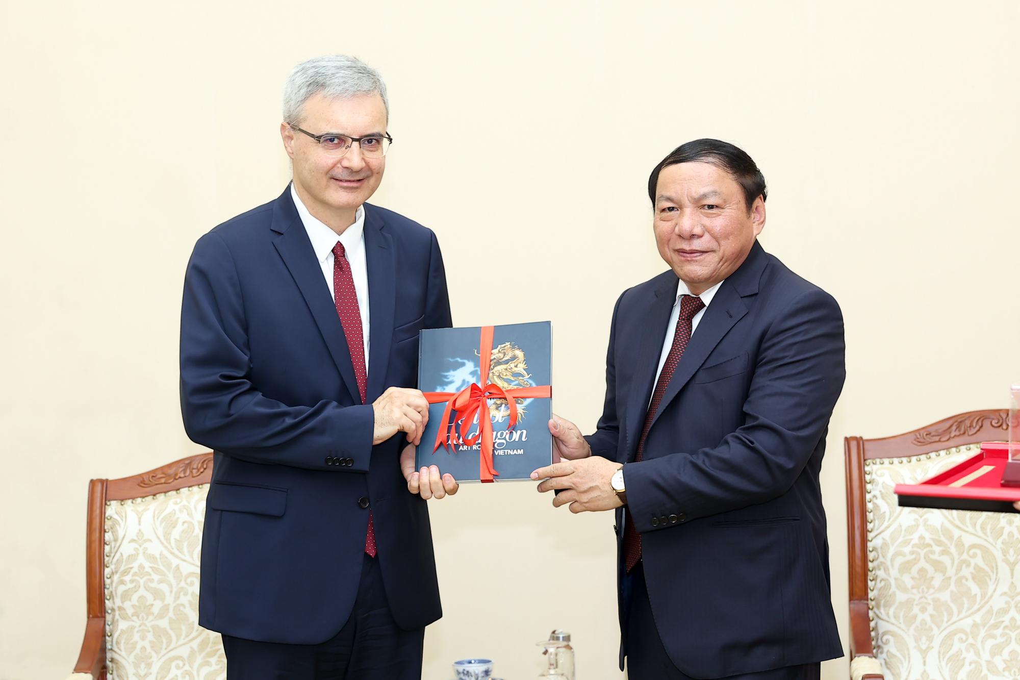 Đưa hợp tác văn hóa, thể thao, du lịch Việt- Pháp phát triển thiết thực và hiệu quả hơn - Ảnh 3.