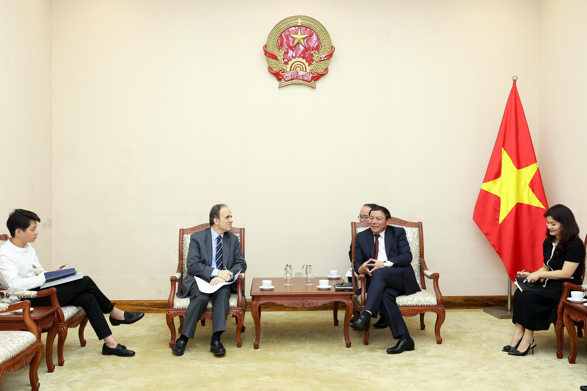Việt Nam- Hy Lạp tăng cường hợp tác văn hóa, thể thao, du lịch - Ảnh 1.